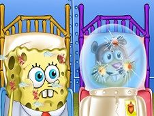 Spongebob and Sandy First Aid