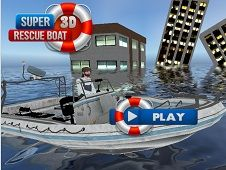 Super 3D Rescue Boat