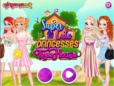 Super Cute Princesses Tree House