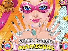 Super Barbie Manicure