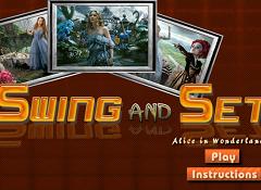 Swing and Set Alice in Wonderland