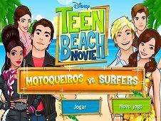 Teen Beach Bikers vs Surfers