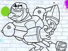 Teen Titans Go Colour In