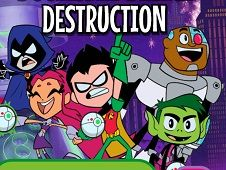 Teen Titans GO Doomsday Device Destruction