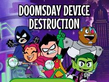 Teen Titans Go the the Movies Destroy Device