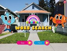 The Amazing World of Gumball Word Search