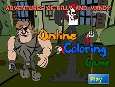Billy and Mandy Coloring