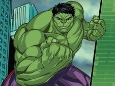 The Incredible Hulk Chitauri Takedown