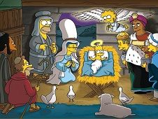 The Simpsons Christmas Puzzle