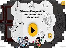 Teen Titans Go Storyboard