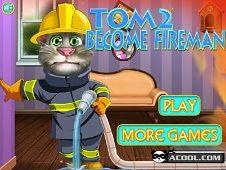 Tom 2 Becomes a Fireman