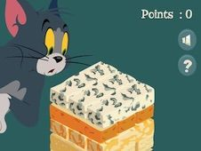 Tom and Jerry Leaning Tower Cheese