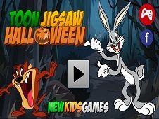 Toon Jigsaw Halloween