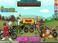 Toon Heroes Super Race