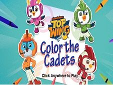 Top Wing Color the Cadets