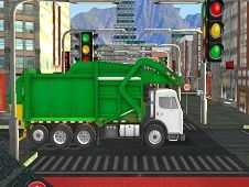 Town Clean Garbage Truck