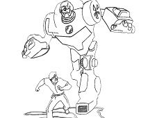 Rescue Bots Coloring