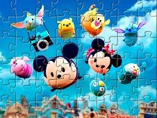 Tsum Tsum Characters Puzzle