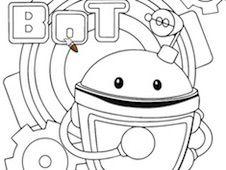 Umizoomi Bot Coloring