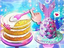 Unicorn Chef Mermaid Cake