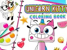 Unkitty Coloring Book