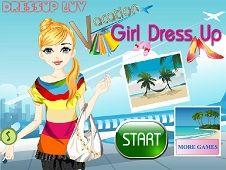 Vacation Girl Dress Up
