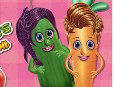 Vegetables at Hair Salon