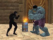 Venom Hero Street Fighting