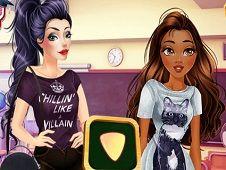 Villains vs Princesses School Fashion
