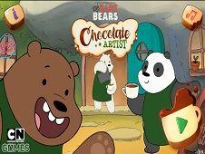 We Bare Bears Chocolate Artist