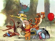 Winnie the Pooh Trap the Backson