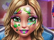 Winter Makeup and Face Painting