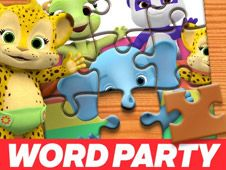 Word Party Jigsaw