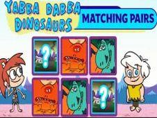 Yabba Dabba Dinosaurs Matching Pairs