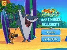 Zig and Sharko Surf