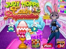 Judy Hopps Easter Preparations